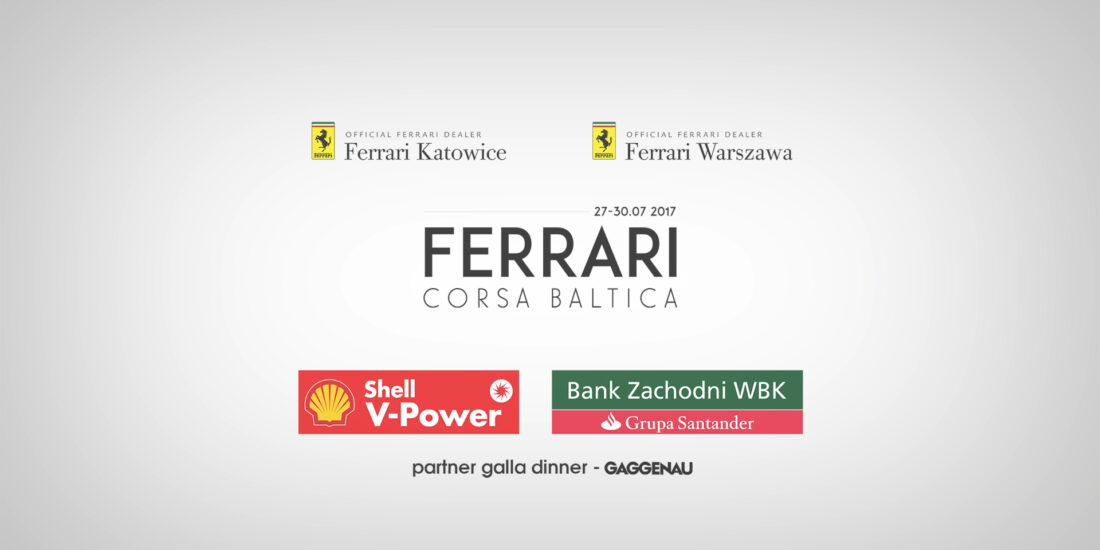 Corporational event video Ferrari