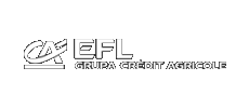 EFL Credit Agricol logo – client our film production company