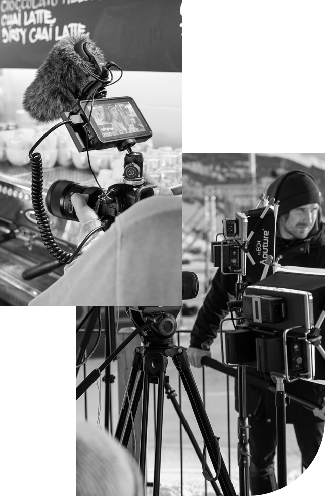 Corporate video production for LAAX. We are creative and experienced filmmakers, for whom nothing is impossible.